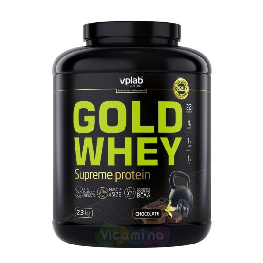 VPLab Концентрат сывороточного протеина Gold Whey, 2300 гр