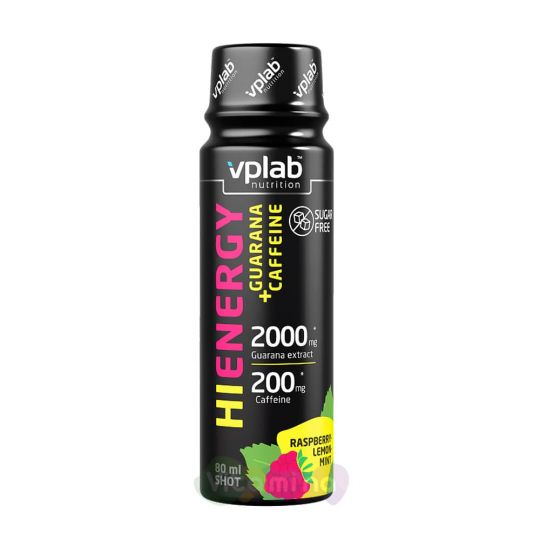 VPLab Hi Energy Guarana+Caffeine, 80 мл