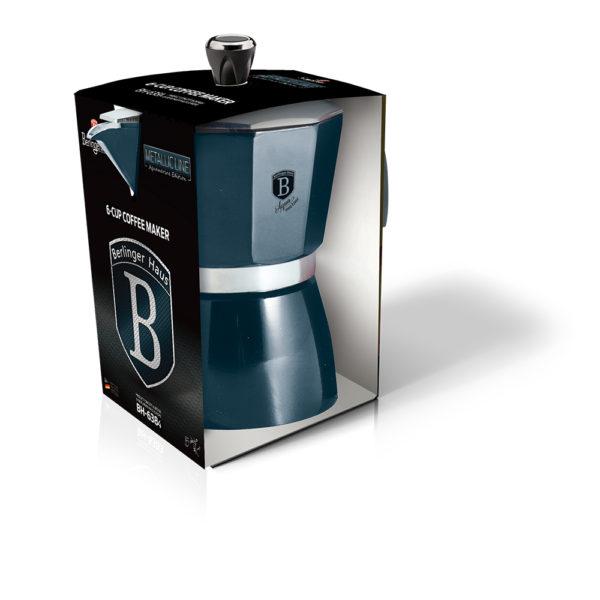 BH-6383 Aquamarine Edition Кофеварка на 3 чашки
