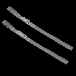Бретельки силиконовые, 1 см, пара, цвет прозрачный