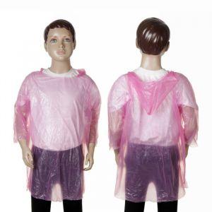 Дождевик детский «Весело гулять», розовый