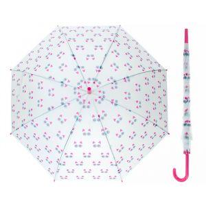 Зонт детский полуавтоматический «Котики», r=45,5см, цвет зелёный