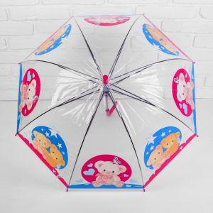 Зонт детский «Мишки» r= 35 см