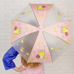 Зонт детский «Улитка», со свиском