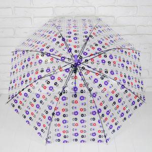 Зонт детский «Цветы», МИКС