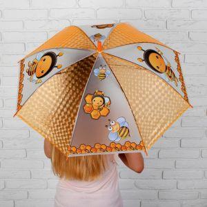 Зонт детский 3Д «Пчёлки» d=82 см