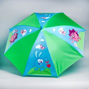 Зонт детский «Давай гулять!», СМЕШАРИКИ ? 70 см