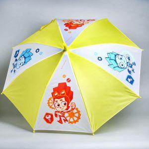 Зонт детский «Нолик и Файер», ФИКСИКИ ? 70 см