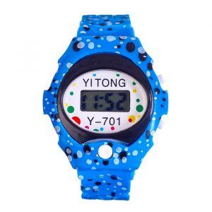 """Часы наручные """"Пупырка"""", электронные, с силиконовым ремешком, l= 23 см, микс   4447481"""