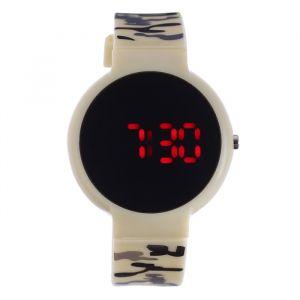 """Часы наручные """"Ройстон"""", электронные, с силиконовым ремешком, l=23 см, микс   4447480"""