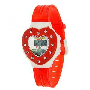 """Часы наручные детские """"Сердечко"""", электронные, с силиконовым ремешком, микс 839076"""