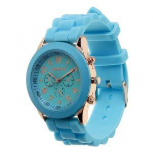 """Часы наручные """"Женева"""", голубые  3621046"""