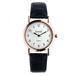 """Часы наручные женские """"Аннеси"""", d=3.5 см, чёрный ремешок   4597401"""
