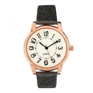 """Часы наручные женские """"Валенсия"""",  ремешок из экокожи, микс   4407036"""
