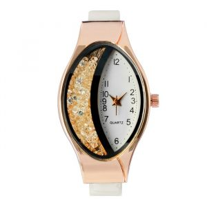 """Часы наручные женские """"Затмение"""", ремешок из экокожи, микс   4407014"""