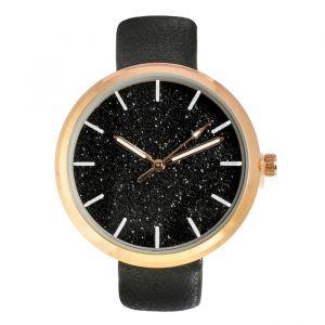 """Часы наручные женские """"Космос"""", циферблат d=3.3 см, черые   4415684"""