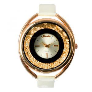 """Часы наручные женские """"Кравьери"""", циферблат d=3.8 см, белые   4415681"""