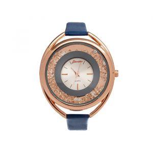 """Часы наручные женские """"Кравьери"""", циферблат d=3.8 см, синий  микс   4415679"""