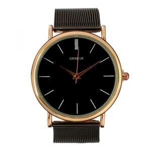 """Часы наручные женские """"Ливато"""", циферблат d=3.7 см, черные   4407056"""