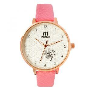 """Часы наручные женские """"Мускари"""",  ремешок из экокожи, микс   4407032"""