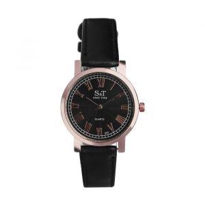 """Часы наручные женские """"СиТ"""", циферблат d=3,6 см, черные   4407060"""