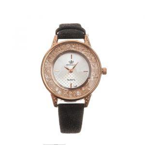 """Часы наручные женские """"Фелиция"""", циферблат d=3.2 см, черные   4415682"""