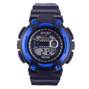 """Часы наручные """"Sport"""", электронные, с силиконовым ремешком и календарем, l=22 см   4452575"""