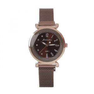 """Часы наручные """"Имбау"""", кварцевые, l=24 см, d=3.5 см, ремешок на магните   4731572"""