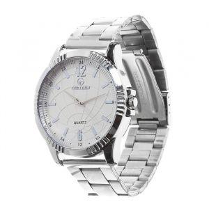 """Часы наручные """"Тоничи"""", d=4,5 см, классические, хром, ремешок 18мм 3621001"""