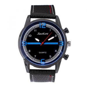 """Часы наручные мужские """"Бастленд"""", ремешок из экокожи, d=5 см , микс   4470088"""