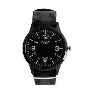"""Часы наручные мужские """"Вермион"""" на нейлоновом ремешке со светоотражающей полосой , микс 4868498"""