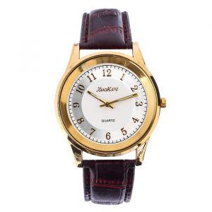 """Часы наручные мужские """"Дант"""", ремешок из экокожи, d=3 см, микс   4470081"""