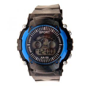 """Часы наручные мужские """"Максимум"""", электронные, с силиконовым ремешком, микс 3912766"""