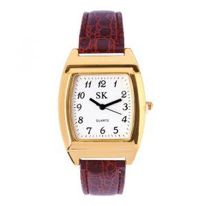 """Часы наручные мужские """"Монмут"""", ремешок из экокожи, d=3.5 см, микс   4470082"""