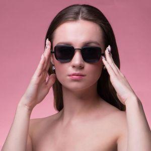 """Очки солнцезащитные """"Мастер."""", uv 400, 14х14х4.5 см, линза 3.5х5 см, чёрные   4703635"""