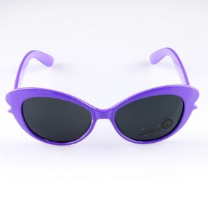 """Очки солнцезащитные детские """"Овал"""", оправа МИКС, линзы однотонные, 13 ? 12 ? 4.5 см"""