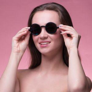 "Очки солнцезащитные ""Паданг"", uv 400, 14.5х13.5х5 см, линза 4.4х4.4 см, микс   4703577"