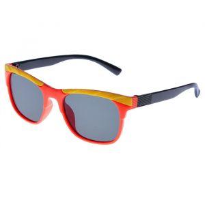 """Очки солнцезащитные детские """"Square"""", оправа двухцветная со вставками сверху, МИКС, 12.5 см"""