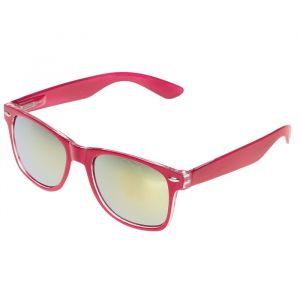 """Очки солнцезащитные детские """"Square"""", оправа розовая, линзы зеркальные, 15 ? 14 ? 5 см"""