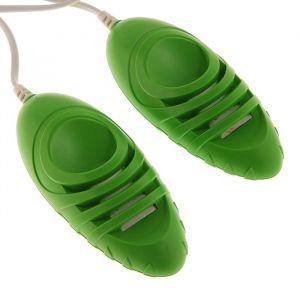 Сушилка для обуви «Комфорт Люкс», 8 Вт, 6 аромо-антисептических пластин, зеленая 4325208