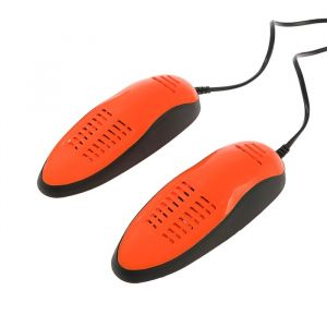 Сушилка для обуви Sakura SA-8153ABK, 60-75°С, арома-пластик, антибакт., рыже-черный 2904514
