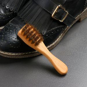 Щётка обувная для нубука 12?3?1,2 см, 22 пучка