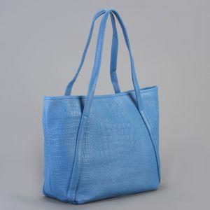 Сумка женская, отдел на молнии, цвет синий