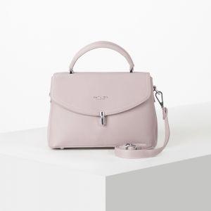 Сумка жен 8321 27*10*30 3 отдела, нар карман,длин ремень,  розовый 5003849