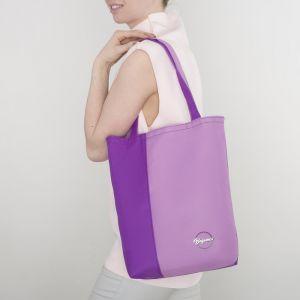 Сумка летняя, 1 отдел, без подклада, цвет фиолетовый/лаванда
