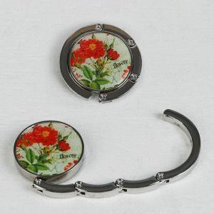 Крючок для сумки и зонта «Цветы», d = 4,5 см