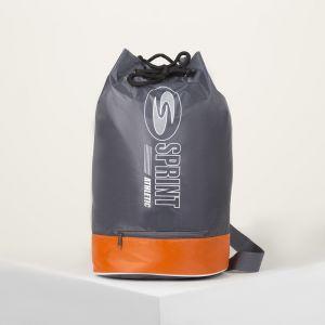 Рюкзак молодёжный-торба, отдел на стяжке шнурком, цвет жёлтый/чёрный