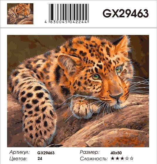 Картина по номерам на холсте GX29463