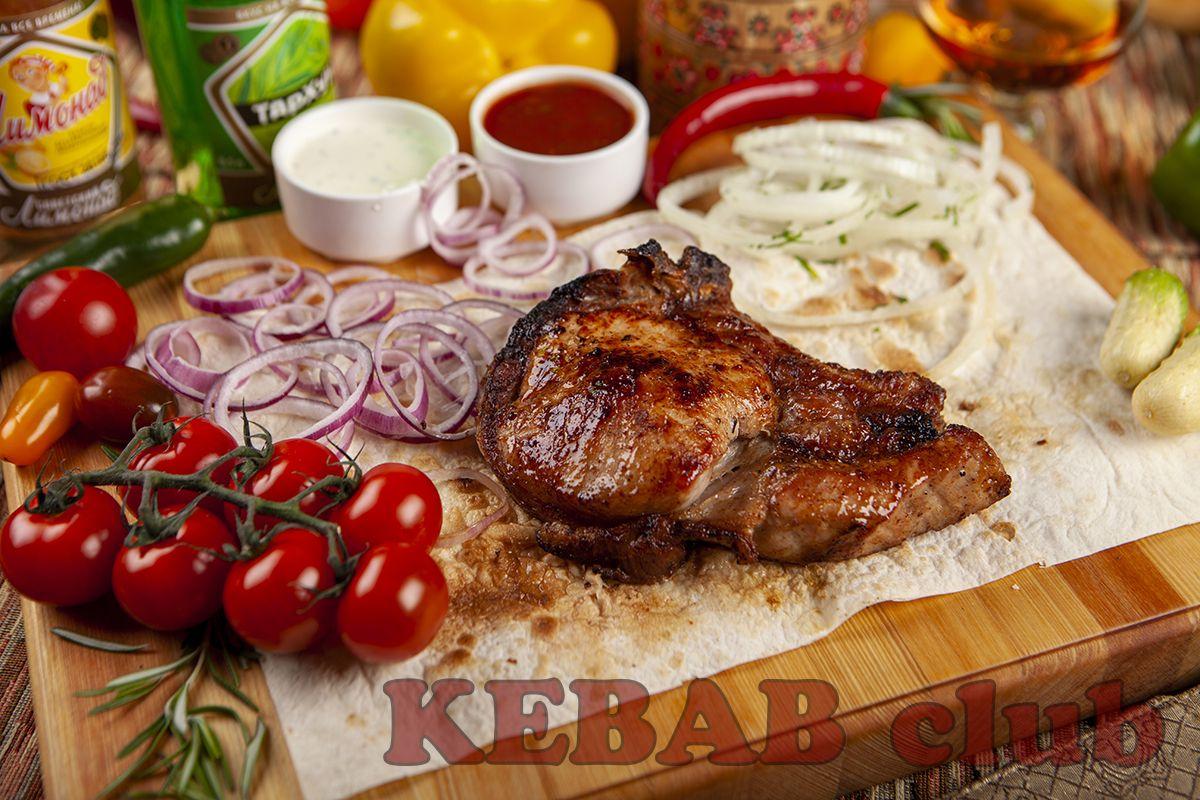 Шашлык из свинины (антрекот)