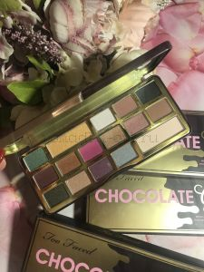 Палетка для глаз Too Faced Chocolate Gold Bar Eyeshadows Palette Holiday 2017 КОПИЯ